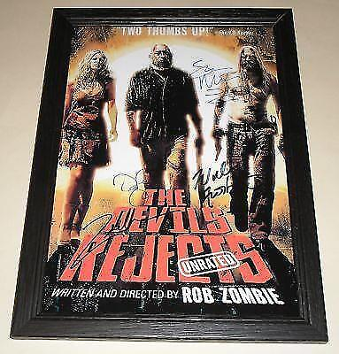 """The Devil's Rejects Signed & Framed 12""""X8"""" Poster"""