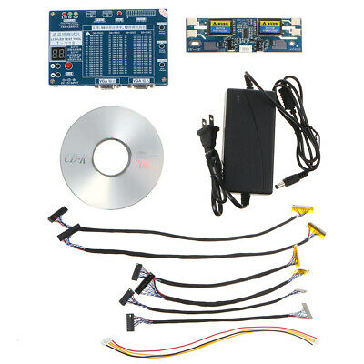 """TV Laptop Computer Repair Tool LCD LED Panel Tester Support 7 -84"""" LVDS Screen"""