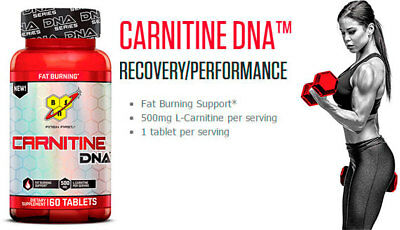 BSN Carnitine DNA 60 Capsules Fat Burner l quadralean lean hydroxycut mode