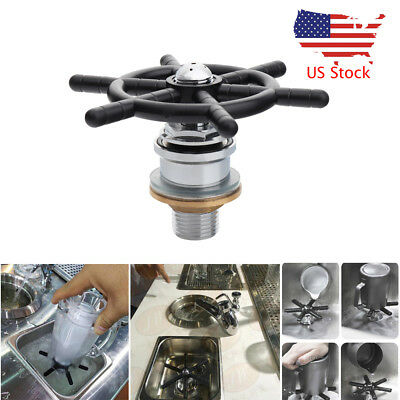 Commercial Cofe Cup Rinser Cleaner Hand Press Glasses Goblets Cleaning Machine