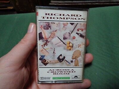 RICHARD THOMPSON_Across A Crowded Room_used cassette_ships from AUS!_zz61_C2