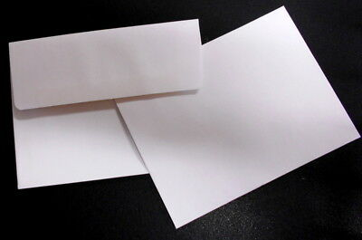 A2 WHITE ENVELOPES  x 10 - perfect for Handmade Cards - All Occasions
