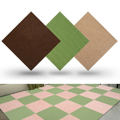5PCS Carpet Tiles Commercial Domestic Retail Office Flooring Home Textured