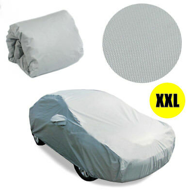 XXL Large Full Car Cover Anti acid Rain UV Dust Scratch Resistance Waterproof