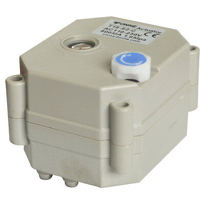 HSH-Flo 12V/24VADC CR5-02 With Manual Override Actuator For Motorized Ball Valve
