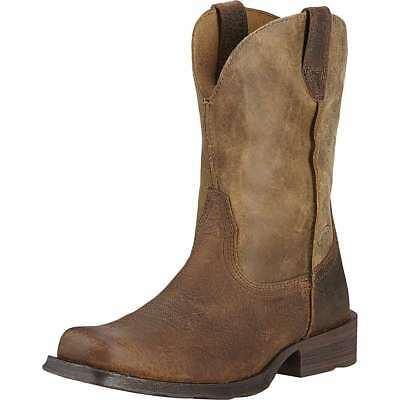 Ariat Mens Rambler Wide Square Pull On Western Cowboy Boots 10002317---9D