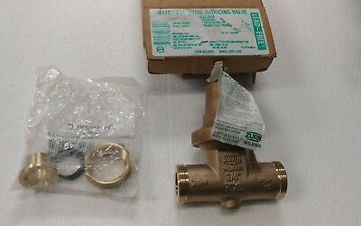 ZURN  3/4. 70XL Bronze Water Pressure Reducing Valve  with one union.