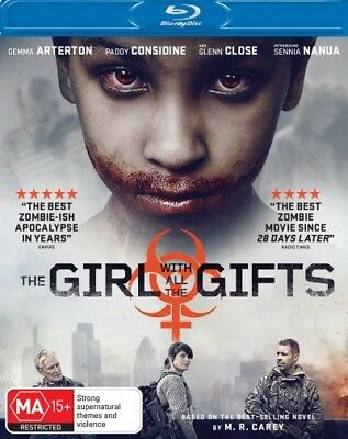 The Girl With all the Gifts  - BLU-RAY - NEW Region B