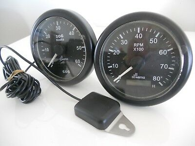 NEW Un-used boat Tacho and GPS speedo