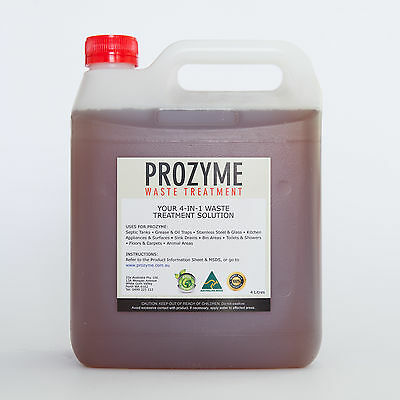 ProZyme 4L - Waste Treatment (Septic Tank Treatment) [ 3 MONTHS SUPPLY ]
