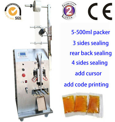 2-100G Auto Liquid Packing Machine filling sealing machine with printing,coding
