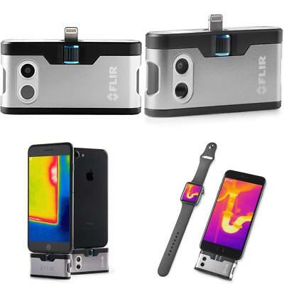 Flir One Thermal Imaging Camera For Ios 1080P Gen 3 Silver Adjustable Connector