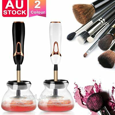 New Electric Beauty Cosmetic Brush Makeup Brushes Cleaner Remover Washing Tools