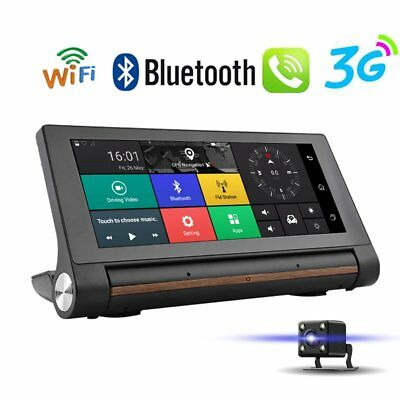 Dashboard 7'' Auto DVR Kamera Recorder 3G Wifi Android GPS Navigation Video+Cam