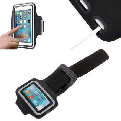 Arm Band Sports GYM Leather Case Cover Running Bag For iPod Touch Nano Mp3 Mp4