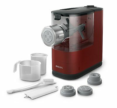 Philips Viva Collection Pasta Maker HR2345 Automatic Electric Noodle Maker Red
