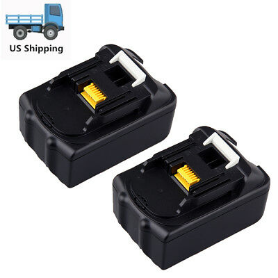 2 X 18 Volt 3.0 Ah 18V Lithium-Ion Battery For Makita BL1815 BL1830 LXT Compact