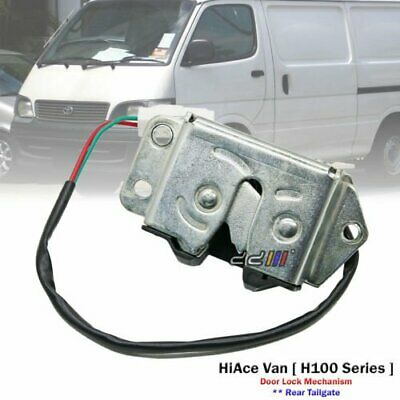 Rear Tailgate Door Lock Mechanism For Toyota Hiace H100 Series Van 1989-04
