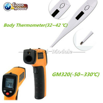 Non-Contact LCD IR Infrared Laser Temperature Thermometer Thermometer Gun/Bady G