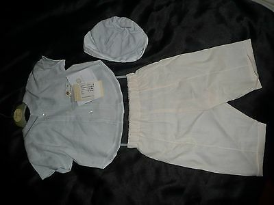 Designer Baby Collins&hall Boys Irish Linen Outfit.6-12 Mths.rrp £110.80% Off