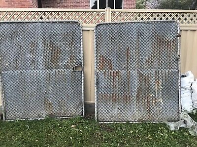 Double Gate withg Mesh and steel sheet