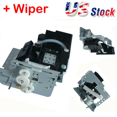 Solvent Resistant Maintenance Pump Cap Station For Mutoh VJ-1204 VJ-1204E USA
