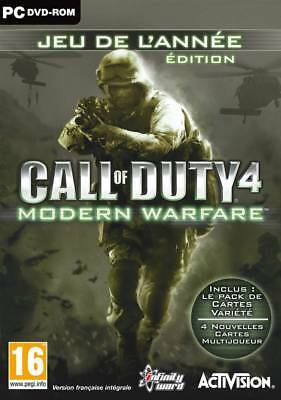 Call of Duty Modern Warfare GOTY NEUF SOUS BLISTER PC