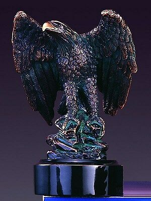 Eagle 4.5 x 6 Beautiful Bronze Statue / Sculpture Brand New