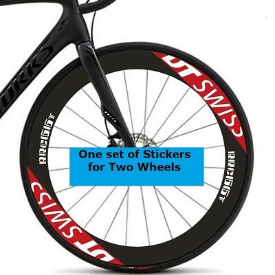 Two Wheel Sticker Set for DABOMB Mountain Bike Bicycle Rim MTB Cycling Decals