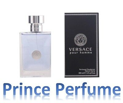 VERSACE POUR HOMME PERFUMED DEODORANT NATURAL SPRAY - 100 ml