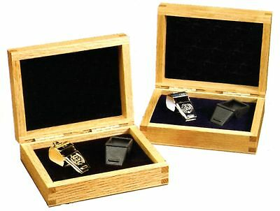 Silver Personalized  Engraved Box  with Whistle Coach Gift Award