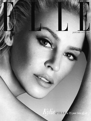 Elle Magazine JANUARY 2013 Kylie Minogue LIMITED EDITION COVER