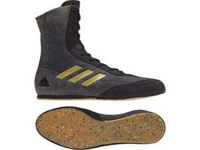 Adidas Boxing Box Hog Plus Boots Shoes - Black/Gold  - DA9897