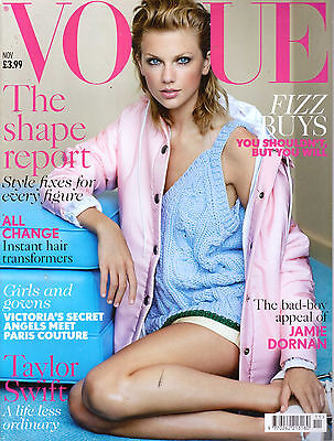 VOGUE Magazine British November 2014 Taylor Swift,Jamie Dornan  NEW