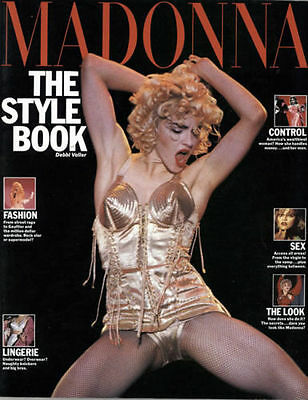 Madonna The Style Book By Debbi Voller 1992 Book