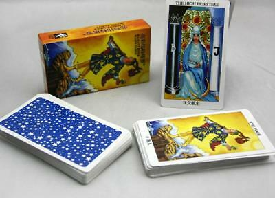 Rider Waite Tarot Cards Deck High Quality Rider WaiteTarot Board Game English