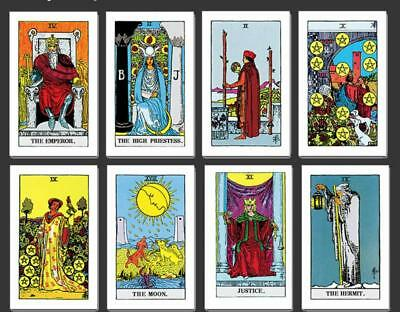 Rider Tarot Deck Cards Cantenary Edition Board Game 78 PCS Playing Cards Toy Gif