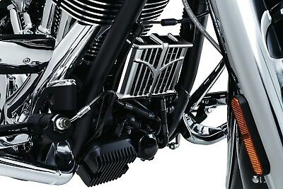 Kuryakyn Oil Cooler Cover for Indian Chieftain Roadmaster Chief Chrome - 5640