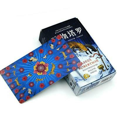 Animal Totem Tarot Cards Board Game Deck Unique Design Board Cards Family Toy