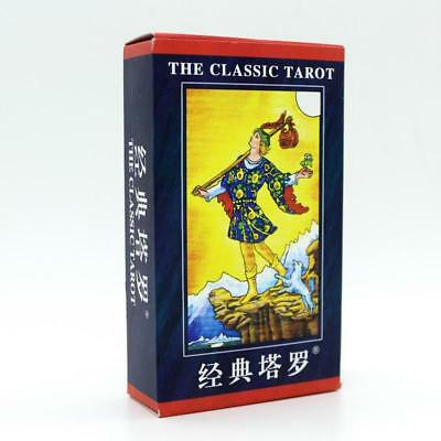 Classic Tarot Board Game Card Deck Playing Toy Family Friends Gift Magic Mystic