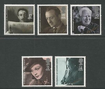 Great Britain 1985 British Film Year--Attractive Topical (1119-23) MNH