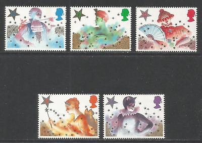 Great Britain 1985 Christmas/Pantomime--Attractive Topical (1124-28) MNH