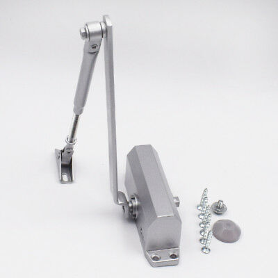 T90 25-45KG Aluminum Door Closer Two Independent Valve Control Sweep Suitable