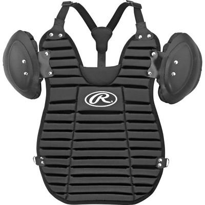 "2018 Rawlings 13.5""  Umpire Chest Protector, Black"