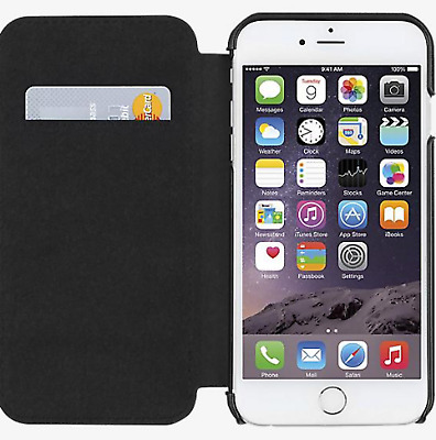 hot sale online 956fc b41a5 JACK SPADE BY Kate Spade Folio Case Cover for Apple iPhone 6/6s + Plus Black