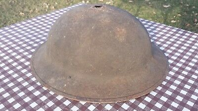 WWI Dough Boy Helmet Metal Vintage Antique WW1 Doughboy Army Marine Trench