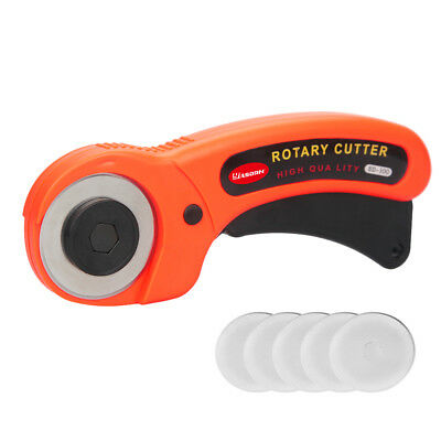 45mm Rotary Cutter with 5 Pieces Replacement Blades