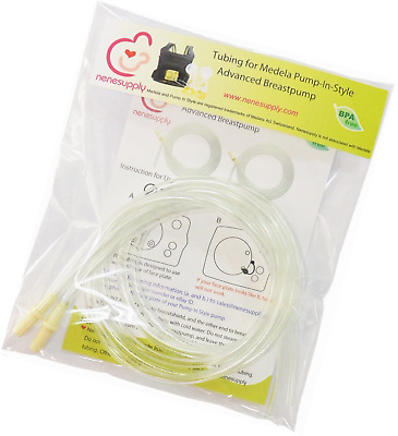 Replacement Tubing, 2-Count, for Medela Pump In Style Advanced Breast Pump Relea