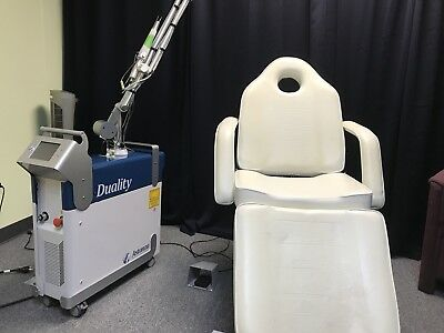 2014 Astanza Duality Q-Switched Nd:YAG Tattoo Removal Laser - 3 hand-pieces