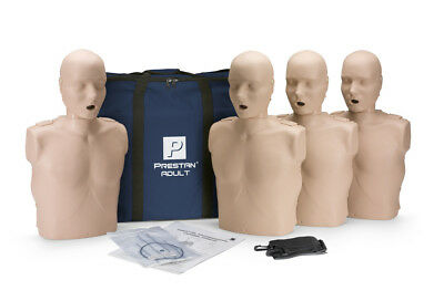 Prestan Products adult manikin 4-pack without monitor  PP-AM-400-MS